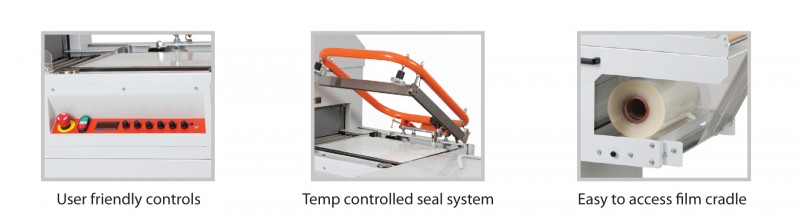 Features for Dem Combo Shrink Wrap Machines
