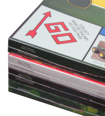 Shrink Wrapped Game Boxes
