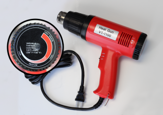 Heat Gun Accessory with Variable Thermal Control