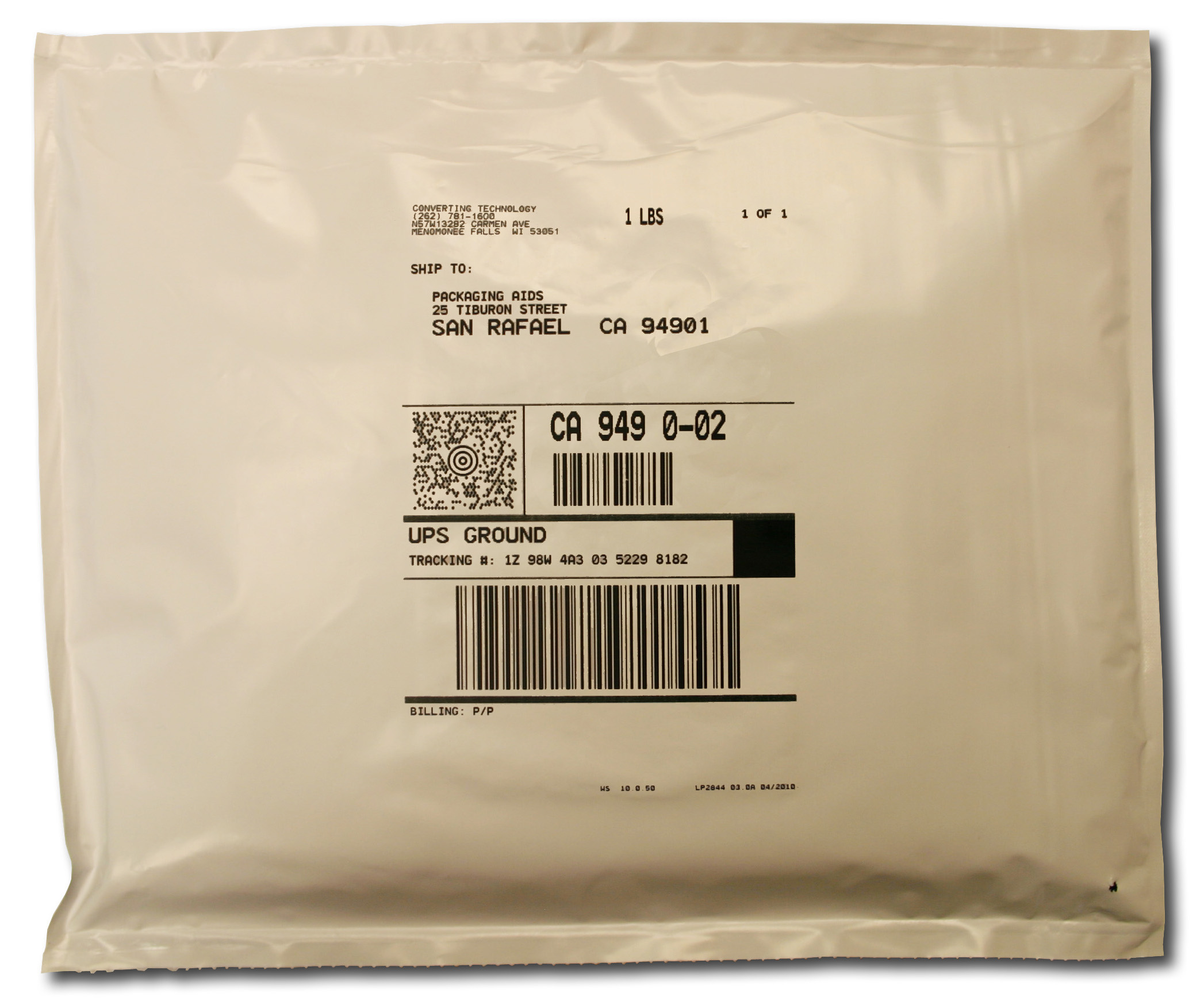 Mailer Rollbag Poly For Mail Order Fulfillment Auto Baggers
