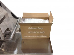 Sideload bags for SPrint SidePouch Baggers