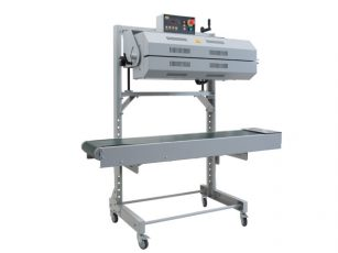555 Vertical Band Sealer - head rotated