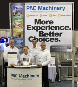 The PAC Machinery team at PACK EXPO East 2017