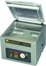 Tabletop vacuum packaging machines feature a transparent lid with a deep drawn stainless steel chamber for optimal hygiene. Chamber vacuum sealers feature digital controls and a quick change seal bar.
