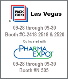 Visit us at this important packaging event.