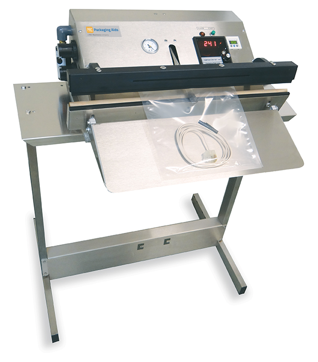 The PAC PVT Med is a fully validatable medical vacuum sealer designed to comply with the stringent guidelines of ISO 11607 terminally sterile packaging requirements.