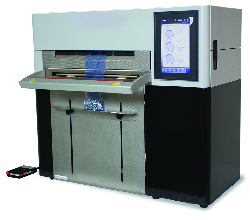 Rollbag R785 table top automatic bagger
